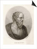 Socrates Athenian Philosopher Prints by Madame Bovi