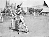 Fuller Pilch Batting for Kent, 1837 Posters