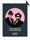 Blues Poster 1 Posters af Anna Malkin
