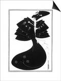 The Black Cape Posters by Aubrey Beardsley