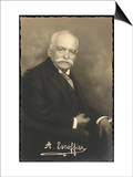 Auguste Escoffier French Chef Posters