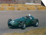 Roy Salvadori Driving Aston Martin in Dutch Grand Prix at Zandvoort Prints
