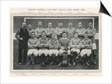 Everton Everton Football Club 1st Team 1905-1906 Season Poster