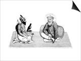 Guru Nanek Dev, Founder of the Sikh Religion Plakat