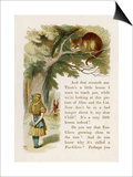 Alice and the Cheshire Cat Posters by John Tenniel