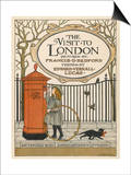 Visitor to London Posts a Letter Back Home Prints by Francis Bedford