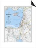 2008 Eastern Mediterranean Map Posters