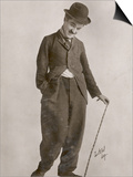 Charlie Chaplin (Sir Charles Spencer) English Comedian and Actor Prints