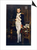Napoleon Emperor Circa 1804 Poster by Jacques-Louis David