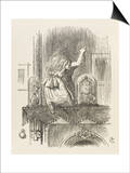 Alice Looking Through the Looking Glass 1 of 2: This Side Posters by John Tenniel