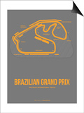 Brazilian Grand Prix 1 Posters by  NaxArt