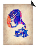 Gramophone 2 Prints by  NaxArt