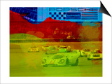 Porsche 917 Racing Poster by  NaxArt