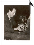 George Gershwin American Composer Posters