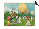 Balloon Rally at Hurlingham Art