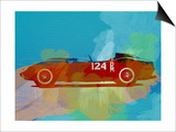 Ferrari Testa Rossa Watercolor 1 Art by  NaxArt