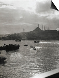 A View across the Bosphorus to Istanbul Posters