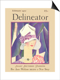 Delineator Front Cover, February 1927 Print