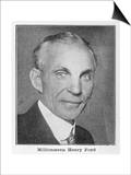 Henry Ford, American Automobile Manufacturer Art