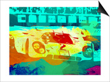 Porsche 917 Watercolor Prints by  NaxArt