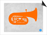 Orange Tuba 2 Prints by  NaxArt