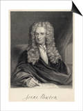 Sir Isaac Newton Mathematician Physicist Occultist Prints by William Holl the Younger