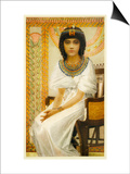 Queen Ankhesenamun Queen of Tutankhamun Posters by Winifred Brunton