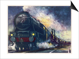 """The London Midland and Scottish Railway's """"Down Special"""" Mail Train Posters"""