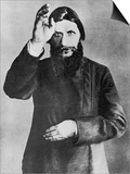 Grigori Rasputin Russian Mystic and Court Favourite in 1912 Prints