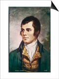 Robert Burns Scottish National Poet Portrait Prints