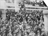 The Arrival of 2447 Italian Immigrants at New York Prints