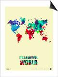 It's a Beautifull World Poster 2 Prints by  NaxArt
