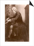 Johann Sebastian Bach German Organist and Composer at the Keyboard Posters