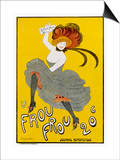 Poster for Le Frou-Frou Humorous Magazine Prints by Leonetto Cappiello