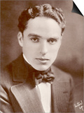 Charlie Chaplin (Sir Charles Spencer) English Comedian and Actor Art