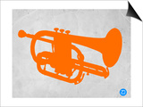 Orange Tuba Poster by  NaxArt