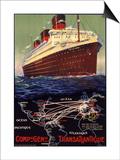 Compagnie Generale Transatlantique Prints