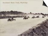 Brooklands Motor Racing Print