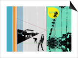 Sunset In Hamptons Posters by  NaxArt