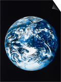 View of Earth from Space Poster by Robert Cattan