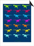 Dinosaur Family 5 Prints by  NaxArt