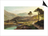 A View of Ambleside Poster by Sidney Richard Percy