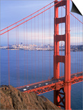Golden Gate Bridge, San Francisco, California Posters by Charles Benes