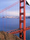 Golden Gate Bridge, San Francisco, California Posters by Charles Benes