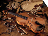 Violin and Tools Prints by Martin Fox