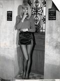 Mireille Darc: Elle Boit Pas, Elle Fume Pas, Elle Drague Pas Mais... Elle Cause !, 1970 Art by Marcel Dole