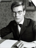 Yves Saint Laurent, July 1960 Prints by Luc Fournol