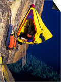 Rock Climber Resting off Rock Posters by Greg Epperson