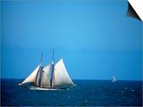 Spirit of Massachusetts in Boston Harbor, MA Posters by Rick Berkowitz