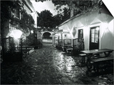 Empty Cafe, Austria Print by Dan Gair